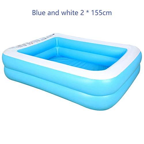 DOOS, piscina para niños, piscina de alta calidad de 1.1 ma 2 m Piscina para niños inflables para adultos Piscina para niños piscina de natación gruesa resistente al agua