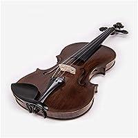 バイオリン ソロソリッドウッド手作りのバイオリンを演奏アダルト専門バイオリン 弦楽器 (色 : Photo Color)