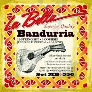 color est/ándar Ortola 6916-099 Juego cuerdas bandurria acero 1410