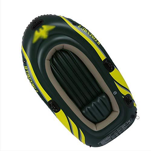 ACEWD Balsa Hinchable Pesca, Balsa Hinchable para Rafting, Kayacs Hinchables 2+1 Plazas Canoa Hinchable Kayaks Hinchables