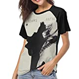 Kmehsv Camiseta de Manga Corta de Mujer, Bryan Adams Anthology Woman'S Women's Baseball Short Sleeves Loose Short SleeveStylish tee Shirt