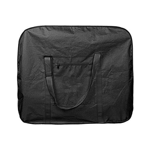 Apto para bicicleta plegable de 14/16/20/26/27.5 pulgadas 700 C, portátil, espesa, bolsa de almacenamiento de la cubierta de la bicicleta (color: negro, tamaño: L)
