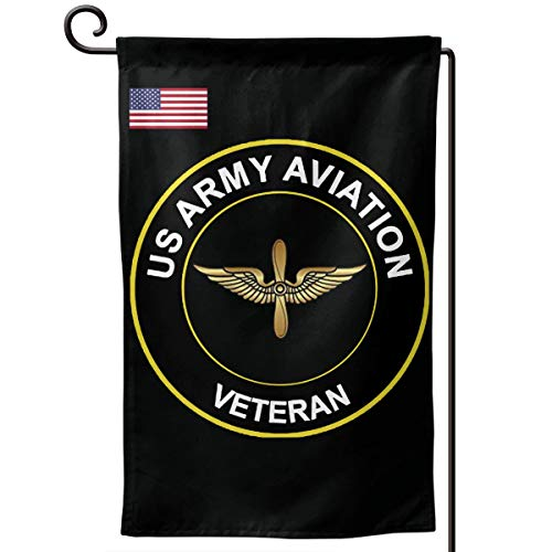 BJHYQSMQ US Army Veteran Aviation Garden Flag Party Flag Garden Flag Vertical Double Sided 12.5 X 18 Inch Summer Courtyard Decor Events Family Anniversary