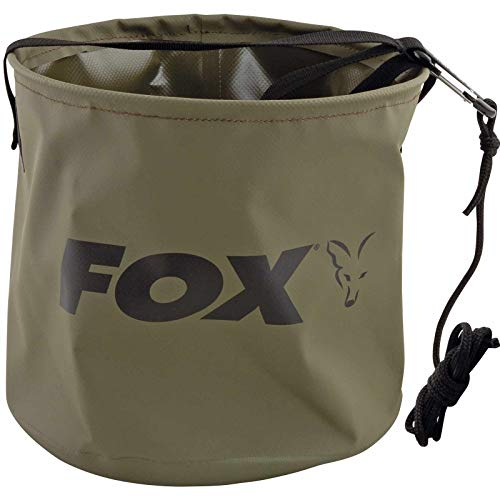 Fox Collapsable Large water bucket inc rope/clip - 10 L Falteimer