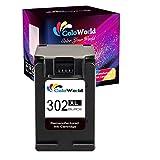 ColoWorld 302XL Cartouche d'encre de Rechange pour imprimante HP 302 pour Officejet 5230 5220 3831...