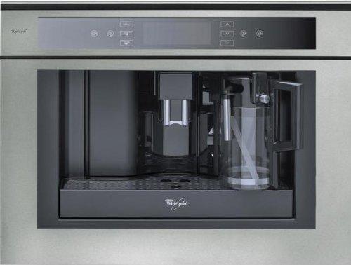Whirlpool ACE 102/IXL Integrado Totalmente automática Máquina espresso 2L Acero inoxidable - Cafetera (Integrado, Máquina espresso, 2 L, 1350 W, Acero inoxidable)