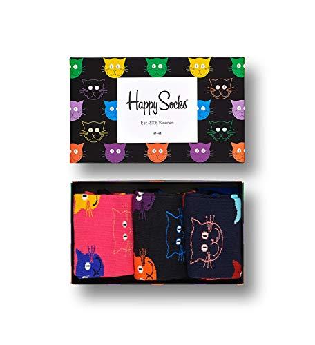 Happy Socks Cat Gift box, 36-40
