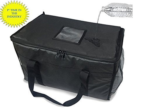 "BEST BAG USA Food Delivery Bag/Pan Carriers (Water Resistant/Stain Resistant) 23""x12""x13"""