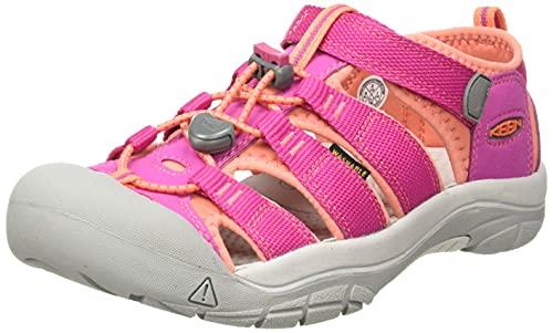 Keen Keen Unisex Baby Newport H2 Lauflernschuhe, Pink (Very Berry/Fusion Coral), 22 EU