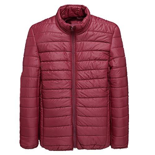 Otoño e invierno hombres de gran tamaño chaqueta acolchada de algodón