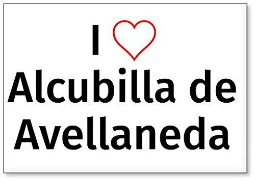 Mundus Souvenirs - Amo Alcubilla de Avellaneda, Imán para Nevera (diseño 3)