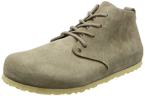 Birkenstock Shoes BIRKENSTOCK Dundee Boots Unisex- Erwachsene Veloursleder Taupe EU(42)