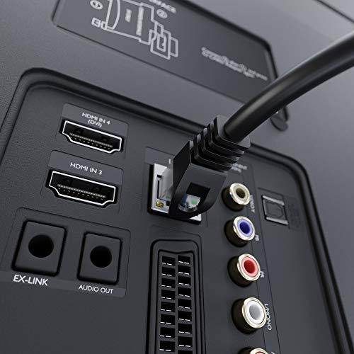 KabelDirekt – 3m – Netzwerkkabel, Ethernet, LAN & Patch Kabel (überträgt maximale Glasfaser Geschwindigkeit & ist geeignet für Gigabit Netzwerke, Switches, Router, Modems mit RJ45 Eingang, Silber)