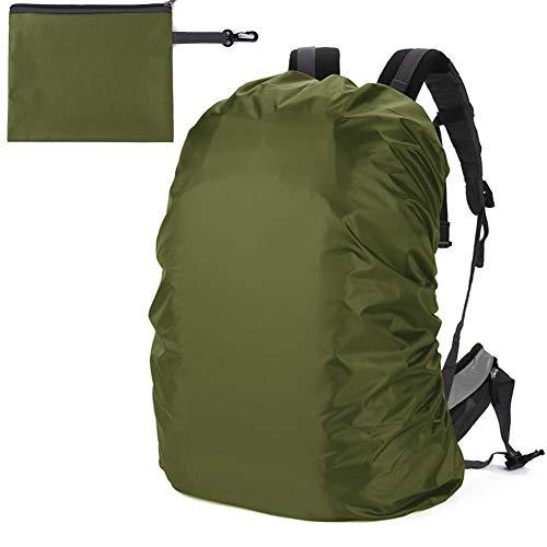 chebao, Mochila impermeable cubierta impermeable mochila lluvia cubierta escalada mochila impermeable con bolsa de almacenamiento