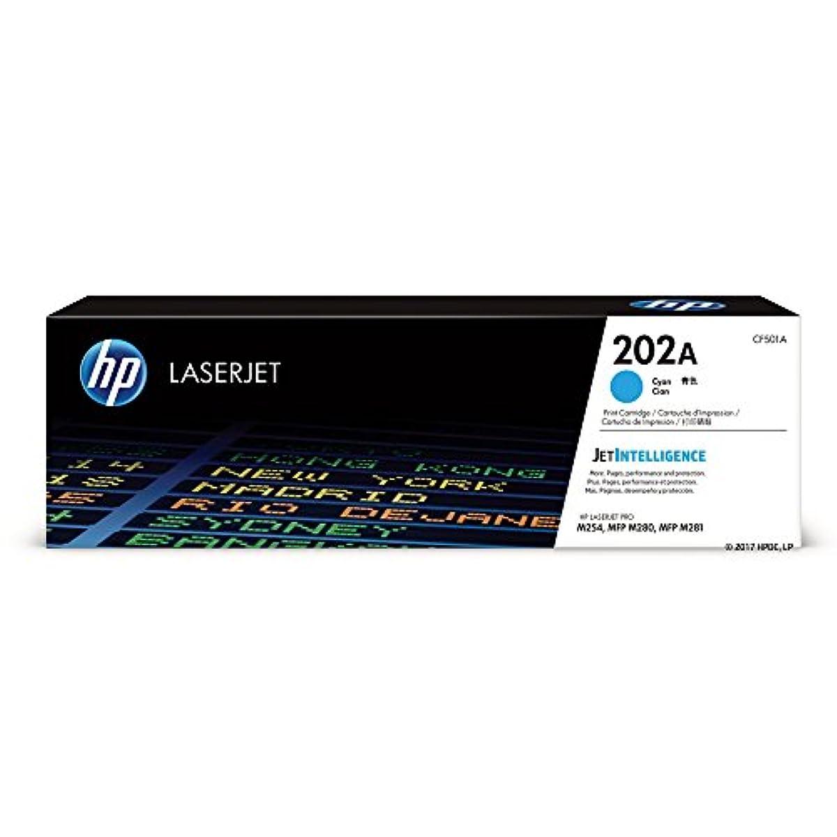 HP 202A (CF501A) Cyan Toner Cartridge for HP LaserJet Pro M254 M281cdw M281dw