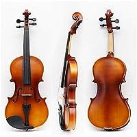 合板のバイオリン手作りバイオリンパターン手作りの木の初心者のバイオリン推奨セクション ZHANGHA (Color : White)