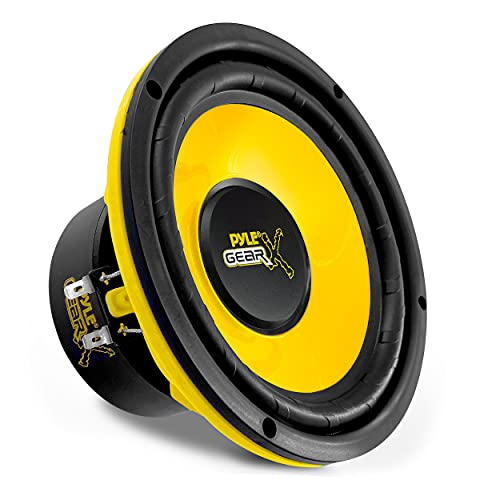 Pyle 6.5 Inch Mid Bass Woofer Sound Speaker System - Pro Loud Range Audio 300 Watt Peak Power w/ 4 Ohm Impedance and 60-20KHz Frequency Response for Car Component Stereo PLG64