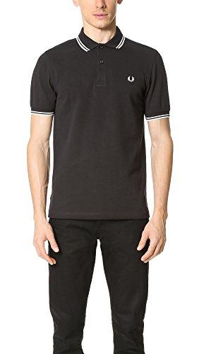 Fred Perry Herren M3600-524-xl Poloshirt, Schwarz (Black 524), X-Large
