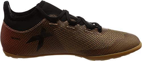 adidas Herren X Tango 17.3 IN Fußballschuhe, Gold (Tactile Gold Met. F17/core Black/solar Red), 44 2/3 EU