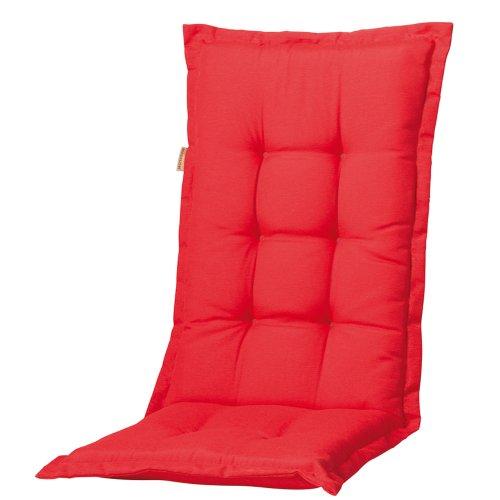 Madison B220 Coussin Haut Dossier Motif Panama 75% Coton 25% Polyester Rouge 50 x 123 cm