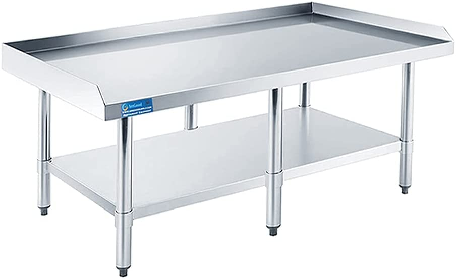 AmGood Stainless Steel Equipment Stand Duty Commercial Heavy - El Paso sold out Mall