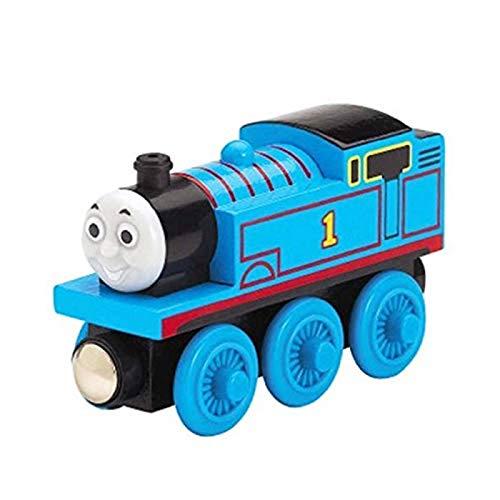 N-B Thomas & Friends FHM16 Wood Thomas, Thomas The Tank Engine Toy Engines, Wooden Toy Train