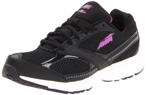 AVIA Women's Avi Chase Running Shoe,Black/Sugar Plum,8.5 M...