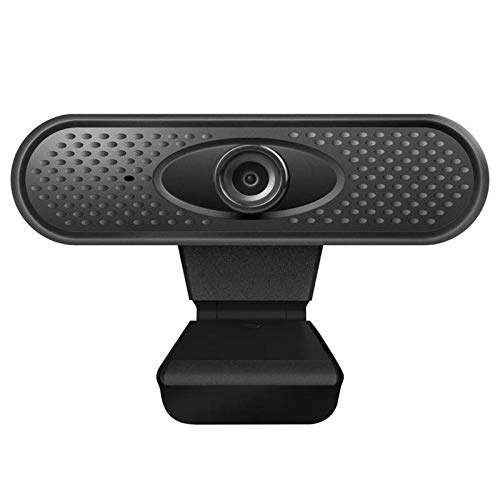 EXCLVEA Webcam HD Streaming Webcam 1080P Webcam USB Computer Camera With Microphone for Gaming and Conferencing (Color : Black, Size : 1080P)