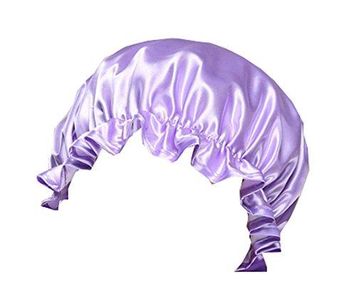 Pommeau de douche féminin Shampooing violet Chef de cuisine/chapeau anti-huile