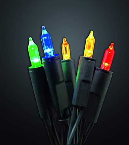 HELLUM 577686 Bunte LED-Lichterkette für innen mit 35 Lichtern