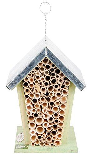 Esschert Design Wood Bee House - Natural
