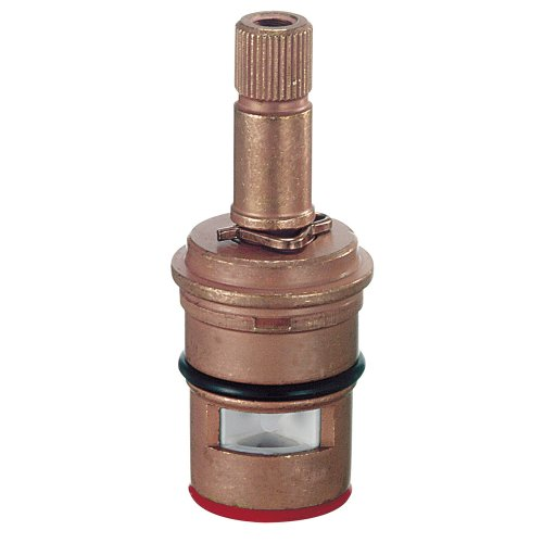Danze DA507072W Replacement Brass Ceramic Disc Faucet Cartridge for Cold Water Side with Round Spline
