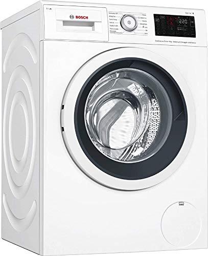Bosch Serie 6 WAT28639IT - Lavatrice Libera installazione Caricamento frontale Bianco 9 kg 1400 Giri min, 63L, 59.8 x 59 x 84.8 cm
