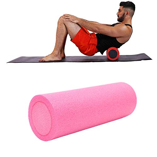 LahAd Rodillo Masaje Muscular Foam Roll Rodillo Pilates Rodillo Miofascial Rodillo Yoga Rodillo De Masaje Muscular Roller Masaje por Equipo De Entrenamiento 4,30cm