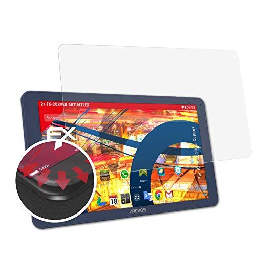 atFolix Schutzfolie kompatibel mit Archos 101c Copper Folie, entspiegelnde & Flexible FX Bildschirmschutzfolie (2X)