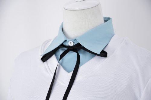 『黒子のバスケ 桃井 さつき 帝光中学 制服 (青シャツ) コスプレ 衣装 Mサイズ 【c45M】』の3枚目の画像
