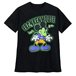 Mickey Mouse T-Shirt Glow-in-The-Dark