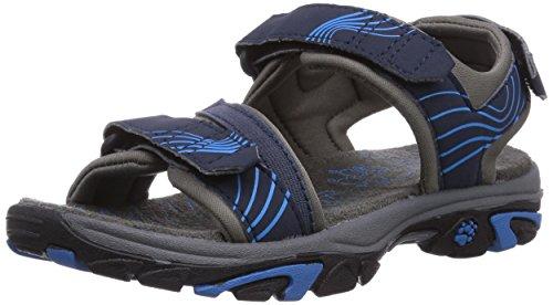 Jack Wolfskin Jungen Boys WATERRAT Sport- & Outdoor Sandalen, Blau (Night Blue 1010), 30