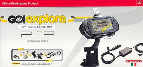 Sony PSP Go! Explore +RIC.GPS+Car Adapt. [Importación Italiana]