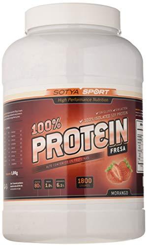SOTYA - SOTYA Proteína Soja 100% Fresa 1.800 kg ⭐