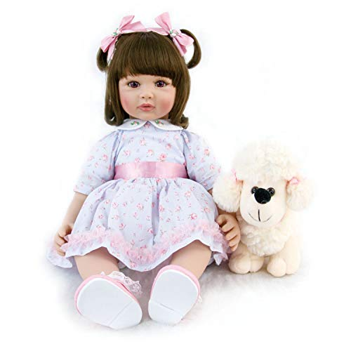 powerful Love Bella Real Life Baby Doll Princess Girls Real 23 inch Soft Weighted Hug Reborn Baby …