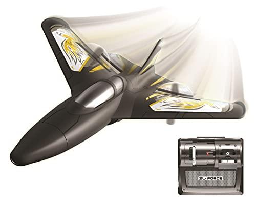 Flybotic by Silverlit - Avion Teledirigido X-Twin 30 cm - Material Memory Foam - Juguete Volador - Utilización Interior/Exterior.