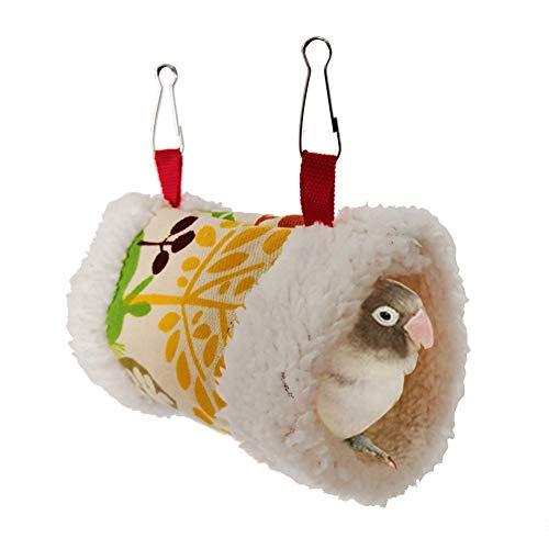KunLS Juguetes Agapornis Hamster Accesorios Cama Hamster Jaula para Mascotas Hamaca Pájaro...