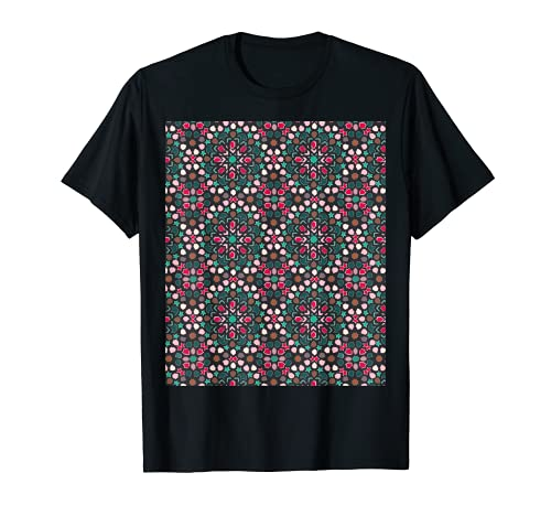 Marokko Kultur Fliesen-muster Reise Grafik Handwerk Afrika T-Shirt