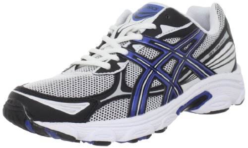 ASICS Men's GEL-Galaxy 5 Running Shoe,White/Royal Blue/Black,7.5 M US