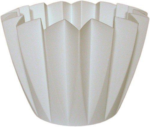 Wibo Set 5-TLG. Umtopf Adonis 14 cm Weiss