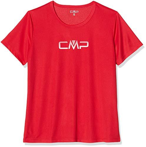 CMP T- Shirt with Logo Femme, Ferrari, 38