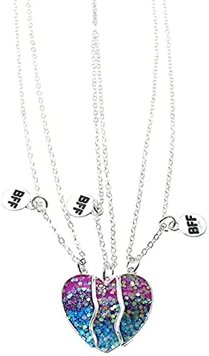 Collar Colgante De Plata Esterlina 925 Collar De Clavícula En Forma De Corazón Bff Simple Cristal Zirconia Collar Colgante De Plata Esterlina 925 Adecuado Para Hombres Y Mujeres Moda Cumpleaños Simple