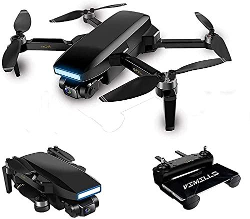 Drone Gps, 2021 Nuovo Drone Gps 6K 5G Wifi Fpv Drone Contiene Occhiali Vr 35 Minuti Di Distanza 5 Km Rc Quadcopter Fotocamera Ptz Elettronica Professionale Motore Senza Spazzole Nero 2 Batterie