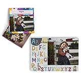 Fotoprix Puzzle Educativo Personalizado con la Foto del niño o de la niña   5 Modelos Diferentes para coleccionar   Puzzle Infantil de 40 Piezas Grandes   Abecedario (Castellano)